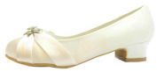 Alfredo Isabella Girl's Vivianne Satin Formal Shoes