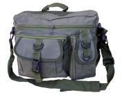 Mens Army Combat Military Travel Shoulder Messenger Satchel Bag Green