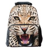 Shineflow Boys Girls 3D Animals Print Daypack Backpack School Bag Horse Tiger Dog Pattern