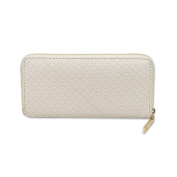 New Multi-functional Women's Ladies Clutch Coin Purse PU Leather Classic Zipper Wallet Chequered Texture Phone Case Bags Evening Prom Bags Beige