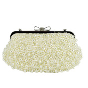 Evening Handbag with pearls for Party Wedding, Prom, various parties or formal occasions