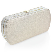Aarz Women Ladies Evening Wedding Bridal Prom Party Sparkly Diamante Clutch Purse Hand Bag