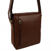 Ladies Mens Leather Cross Body/Shoulder Bag by Visconti; Merlin Travel