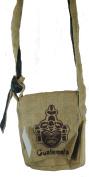 Fair Trade Guatemalan Hessian Jute Coffee Shoulder Bag N37s