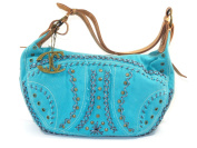 Just Cavalli Women's Shoulder Bag Blue Blue