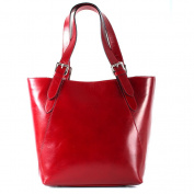 Lederbags Women's Top-Handle Bag Red RED