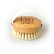 1541 London Beechwood Massage Body Brush with Medium Strength Natural Bristles