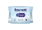 Fess'Nett Wet Toilet Tissue for Irritated Skin x50 Pack of 3