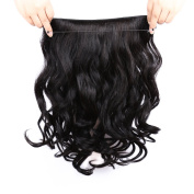 Yavida Hair Invisible Halo Flip in Hair Extensions One Piece Unprocessed Brazilian Virgin Human Hair Extensions