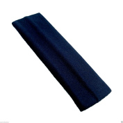 Back To School NAVY BLUE Wide Stretchy Hair Band Alice Band Headband