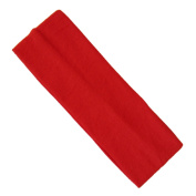 Back To School RED Wide Stretchy Hair Band Alice Band Headband