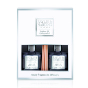 Baylis & Harding Jojoba/Silk and Almond Oil Luxury Home Fragrance Diffuser Duo Set