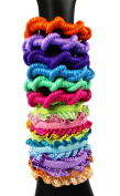 COM-FOUR ® Girl Metal-Free Hair Rubber in Great Colours
