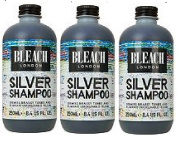 (3 PACK) Bleach London Silver Shampoo x 250ml