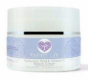 Radiant Life Anti Ageing Hyaluronic Acid Skin Cream with Vitamin C, the best natural, tightening, repair cream for face