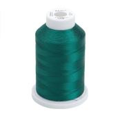Sulky Of America 268d 40wt 2-Ply Rayon Thread, 1500 yd, Mallard Green