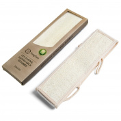 Loofah Back Scrubber by TungSam- Best Premium Top Natural Loofah(Luffa), Exfoliating Shower Bath Body Sponge for Men and Women