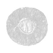 xhorizon TM FLK 100 X Transparent Disposable Spa Hair Salon Home Shower Caps