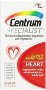 Centrum Specialist Tabs Heart 60 by Centrum
