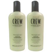 American Crew Citrus Mint Cooling Conditioner (250ml) - 2 Pack - All Hair Types