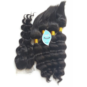 SHOWJARLLY 2016 Loose Wave 4 Bundles Braid in Bundles with Middle Part Closure New Arrival 120g 100% Human Virgin Remy Hair Machine Made Hair Wefts