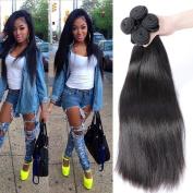 Gem Beauty Hair Malaysian Virgin Hair Straight 4 Bundles Malaysian Human Hair Bundles Straight Hair Weft Natural Colour