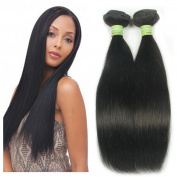 lovely angle hair brazilian hair weave Straight Hair wefts 7A Unprocessed Virgin Human Hair 3 Bundles 10 12 14