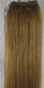 New 46cm - 90cm Remy Straight Weft Weave Human Hair Extensions 100g #12 Lightest Brown
