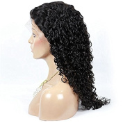 NEW Style Full Lace Wigs Afro Kinky Curly Natural Black Colour Brazilian Virgin Human Hair For Fashion Black Women
