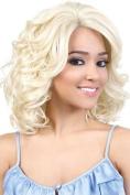 HBSL.BIO (T27/613) - Motown Tress Human Hair Blend Lace Front Wig