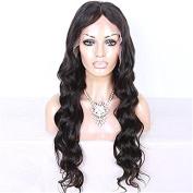 Women Girls Fashion Wavy Wig Glueless Full Lace Wigs Brazilian Human Hair Wigs