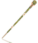 LiveZone Fashion Hair Decor Chinese Traditional Style Women Girls Hair Stick Hairpin Hair Making Accessory ,Green