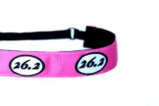 Mavi Bandz Adjustable Non-Slip Fitness Headband Marathon Running 26.2