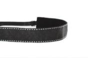 Mavi Bandz Adjustable Non-Slip Fitness Headband Saddle - Black