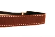 Mavi Bandz Adjustable Non-Slip Fitness Headband Saddle - Brown