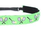 Mavi Bandz Adjustable Non-Slip Fitness Headband Tennis - Green