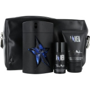 Thierry Mugler Angel Gift Set Eau de Toilette Spray Rubber Bottle 100ml & Hair And Body Shampoo 50ml & Deodorant Stick 20ml & Toiletry Bag