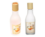 Skinfood Peach Sake Toner 135ml + Emulsion 135ml [Total 2Pcs]