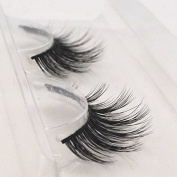 Handmade Luxurious 100% Real Mink Natural Long False Eyelashes Fake Eye Lashes Makeup M-024