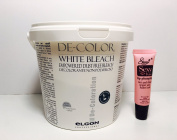 Elgon De-colour professional White Bleach 17.6 Oz **Free Starry Sexy Lip Plumping Gloss Tube 10ml*