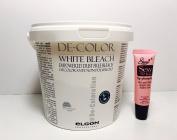 Elgon De-colour professional White Bleach 17.6 Oz **Free Starry Sexy Lip Plumping Gloss Tube 10ml*