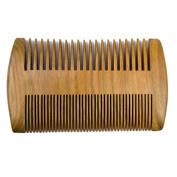 Xuanli Beard Comb Natural Green Sandalwood Combs Top Quality Handmade Combs For Man No Static 1Pcs M023