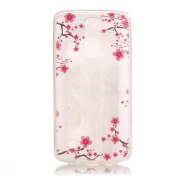 BLT® LG K8 Case, Cute Peach Soft Case Cover for LG K8 with Free Gift