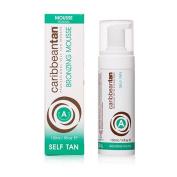 Caribbean Tan Gradual Bronzing Mousse for Fair Skin, 5 Fluid Ounce