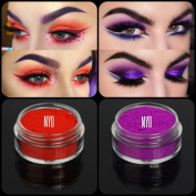 """New Eyeshadow Pigment Myo Ultra Bright Matte """"Vamp"""" & """"Envy"""" Mica Cosmetic Mineral Makeup 3 Gramme Small Size"""
