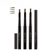 Bodermincer Eyebrow Pencil Longlasting Waterproof Durable Automaric Eye Brow Liner Grooming Kit Makeup Tools