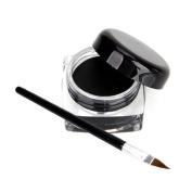 JXULE Waterproof Sexy Eye Liner Eyeliner Gel Makeup Cosmetic + Brush Black