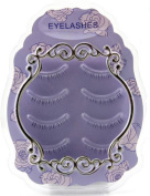 4 Pairs Natural eyelash