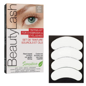 BeautyLash Light Brown Tinting Kit & 3D Beauty Biogel Eye Pads
