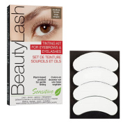 BeautyLash Medium Brown Tinting Kit & 3D Beauty Biogel Eye Pads